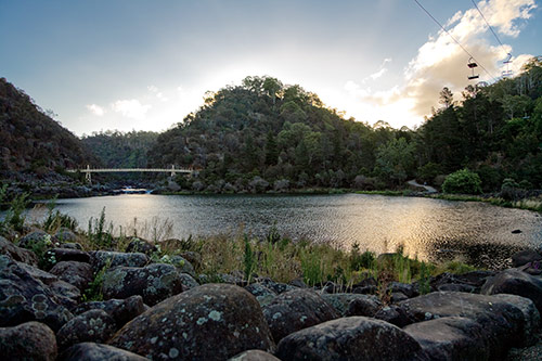 Cataract Gorge bei Launceston