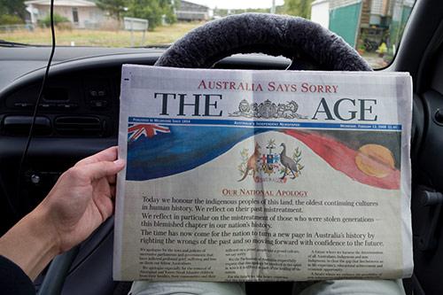 Australische Zeitung: Sorry