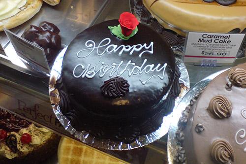 Happy Birthday-Kuchen