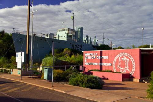 Besucherzentrum von Whyalla