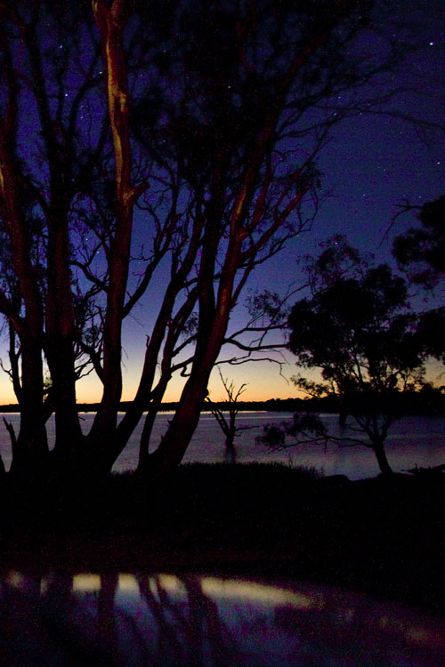 Nacht am Murray River