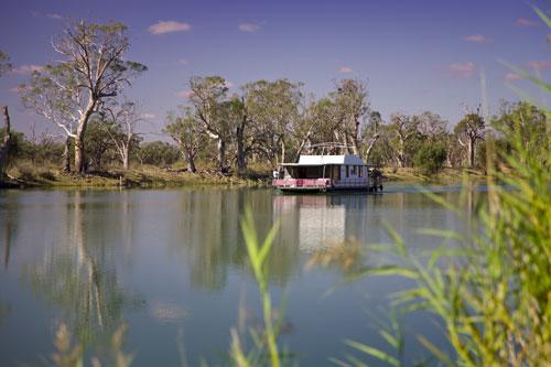 Hausboot auf dem Murray River