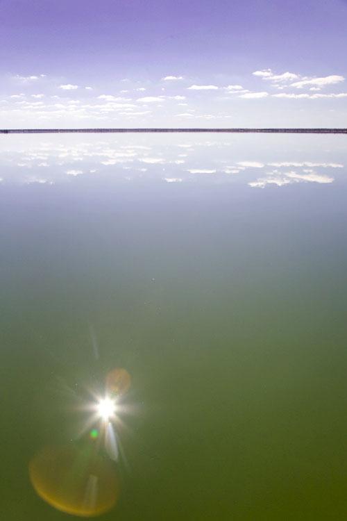 Lake Bonney Wasser