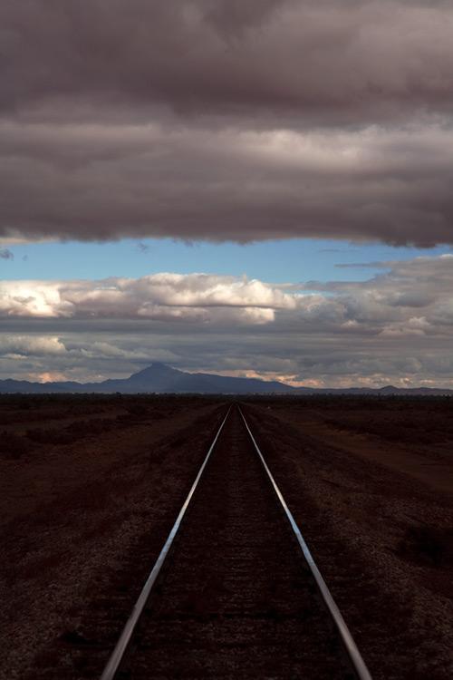 Der Gahn fuhr ursprünglich eine etwas andere Strecke. Das alte Gleis liegt immer noch.